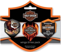 H-D Wings Three Pack (Standard)