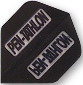 White Mini Vortex PENTATHLON Dart Flights 3 per set