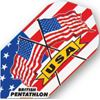 Dart World Pentathlon - USA Flag Slim