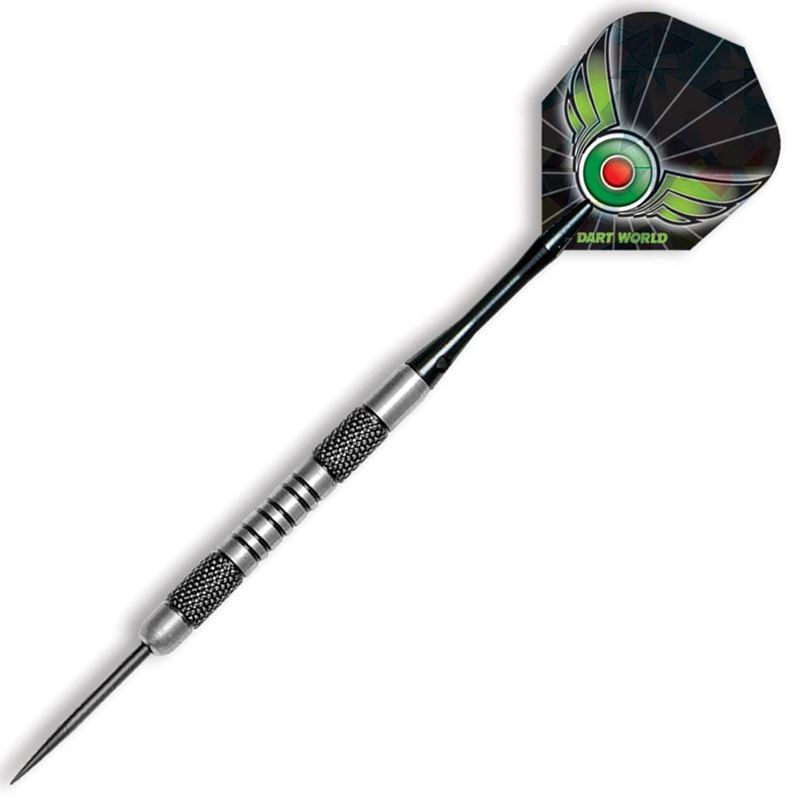 Dart World Sharp Shooter - Knurl and Groove Cut 80% Tungsten 23 grams