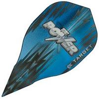 Target Darts Blue and Black Power - Vision Edge  Bullet