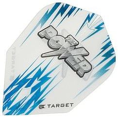 Target Darts White and Blue Power - Vision Edge Shape