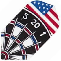 GLD Poly - Dart Board and American Flag Slim
