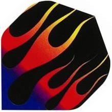 GLD Poly - Red, Blue, and Black Flames Standard