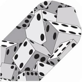 GLD Poly - Grey Dice Slim