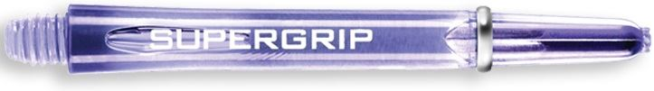 Dart World Supergrip Shafts Clear Blue - Medium