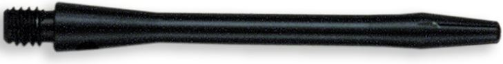 Dart World Aluminum Shafts Black - Medium