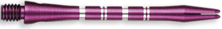 Dart World Color Master Shafts Purple - Medium