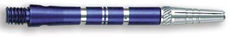 Dart World Top Spin Grooved Shafts Blue - Medium