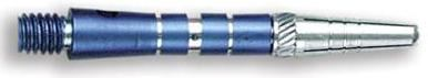 Dart World Top Spin Grooved Shafts Blue - Short