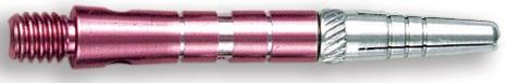Dart World Top Spin Grooved Shafts Pink - Short