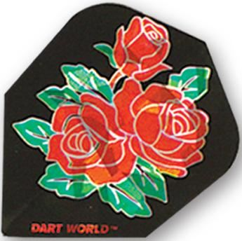 Dart World Broken Glass Roses Standard