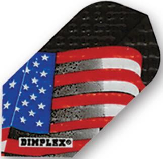 Dart World Dimplex American Flag Slim