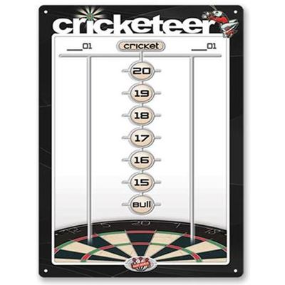 Dart World Cricketeer Medium Scoreboard dry erase