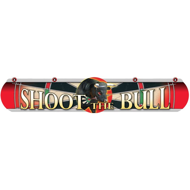 "Dart World ""Shoot the Bull"" Throwline Red"