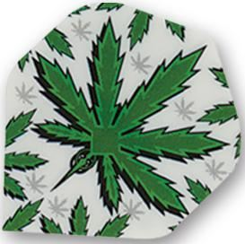 Dart World Poly - Pot Leaf Standard