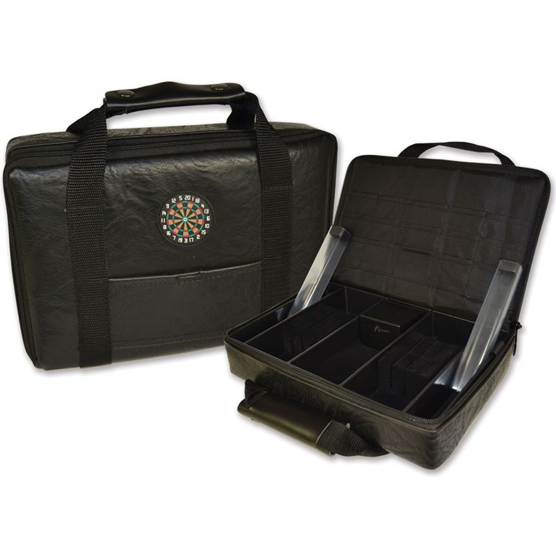 Dart World Leather Carrying Case
