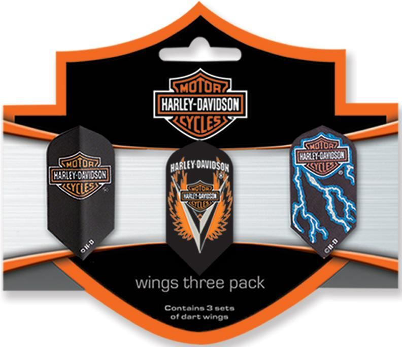 Dart World H-D® Wings Three Pack Slim