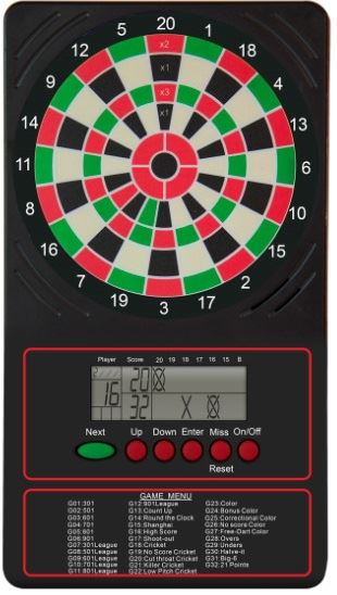 Arachnid Electronic Touch Pad Scorer with LCD Display
