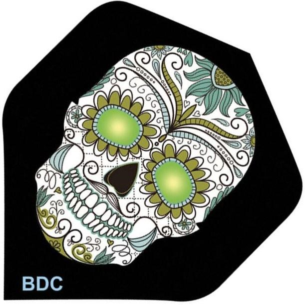 Bottelsen White Sugar Skull Tattoo Flight Standard