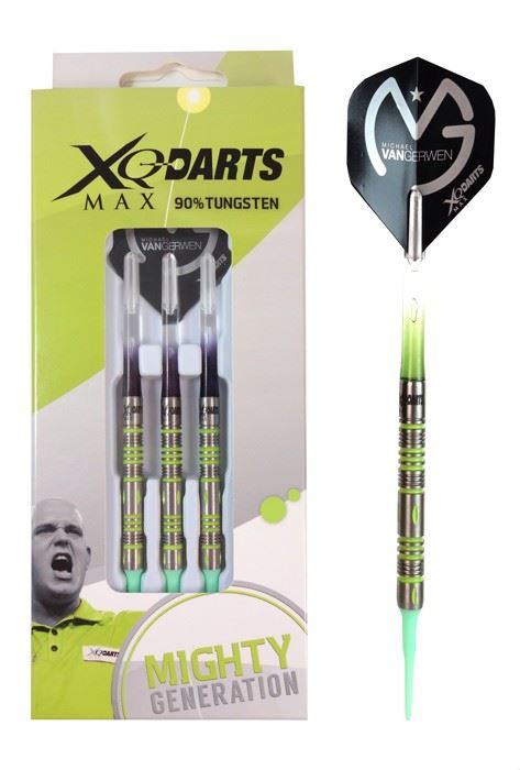 Shots XQMax Michael Van Gerwen Mighty Generation 90% Tungsten 20 grams
