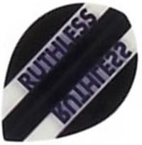 Ruthless Flights - Black and Clear  Pear