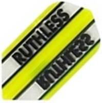 Ruthless Flights - Yellow and Clear Slim